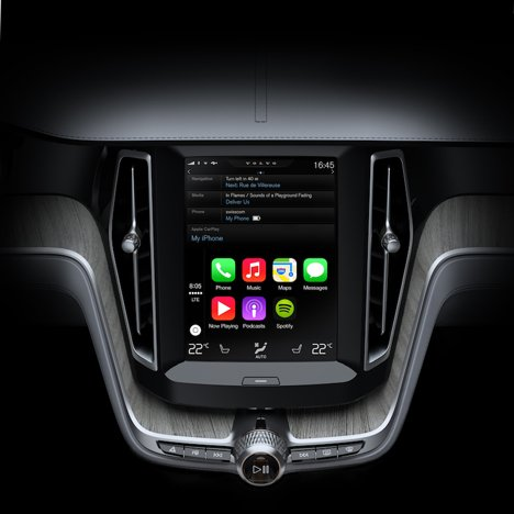 Apple unveils software for cars with Ferrari, Volvo and Mercedes-Benz