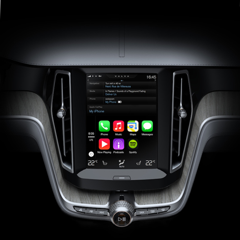 Apple unveils software for car