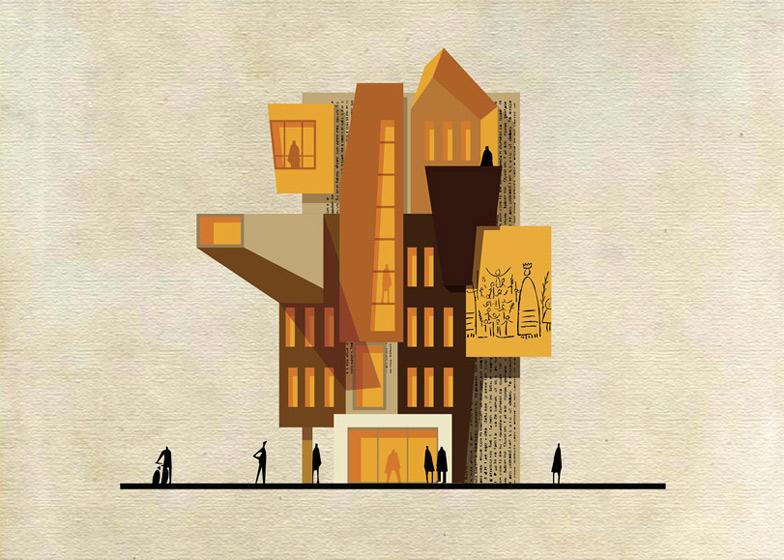 Картинки симпсонов, открытка архитектор
