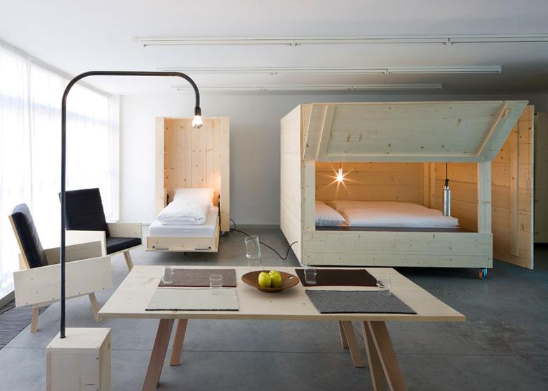 Atelierhouse by studio harry thaler dezeen ss 9