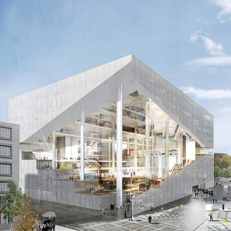 OMA lands Axel Springer office project ahead of BIG and Buro Ole Scheeren