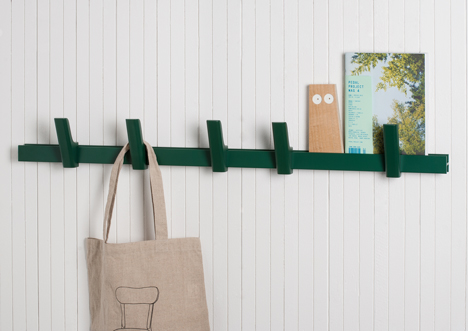 BEAM coat rack by Big Game for Hay