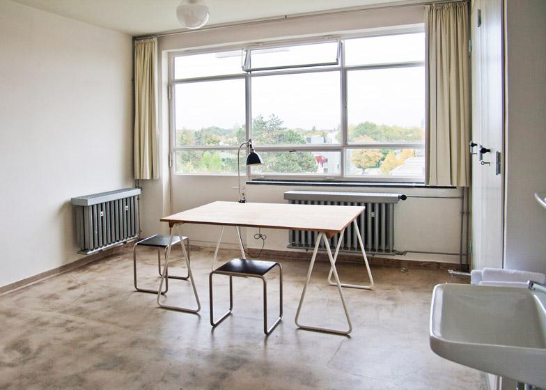 7: Bauhaus Dessau accommodation