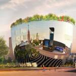 MVRDV unveils reflective bowl-shaped art depot for Museum Boijmans Van Beuningen