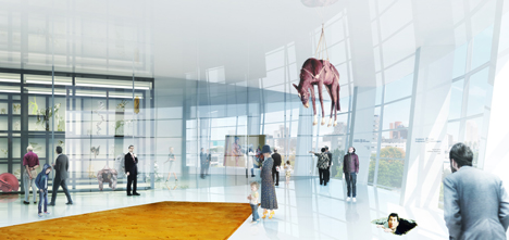 Boijmans Collection Building art depot by MVRDV