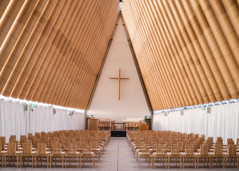 Cardboard Cathedral by Shigeru Ban