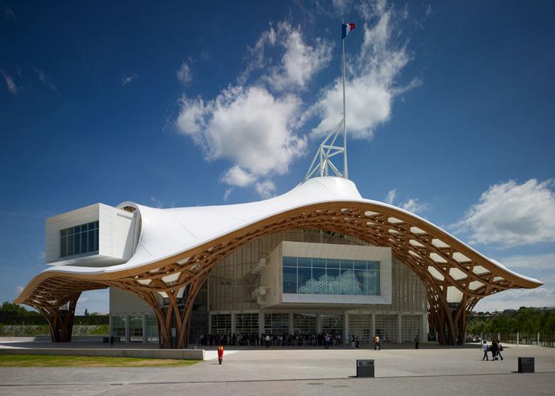 Centre Pompidou Metz by Shigeru Ban