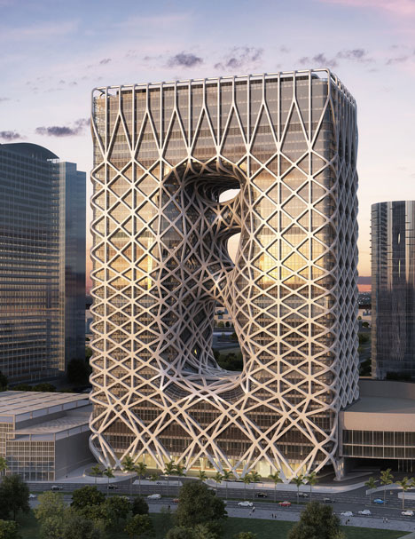 City of Dreams hotel in Macau by Zaha Hadid