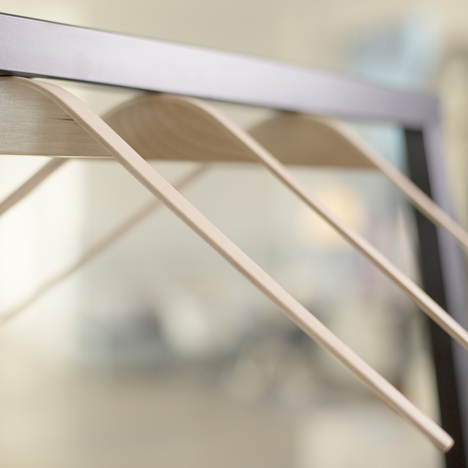 Cliq coat hangers by Flow Design replace hooks with magnets