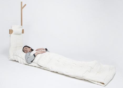 Studio Makkink & Bey create furniture for a nomadic living room