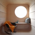 Abandoned trailer converted into garden hideaway by Karel Verstraeten