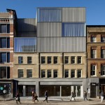Duggan Morris injects new life into Georgian office block in Shoreditch with metal mesh