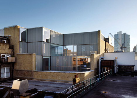 Curtain Road extension by Duggan Morris Architects