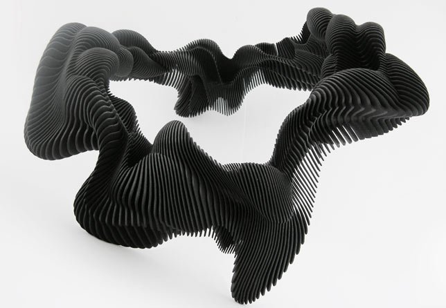 Daniel Widrig Kinesis 3D-printed body adornments for Luminaire
