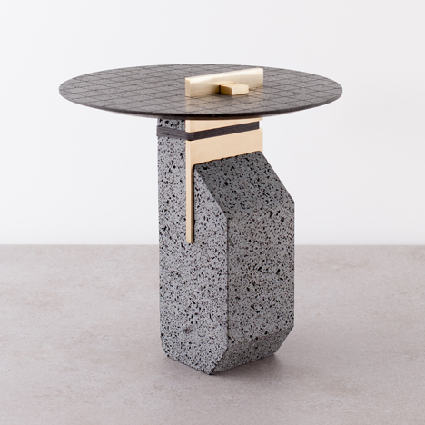 Formafantasma experiment with lava to create furniture collection