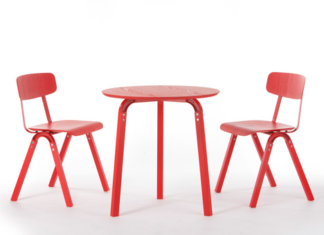 Hatcham Table by Samuel Wilkinson for Decode