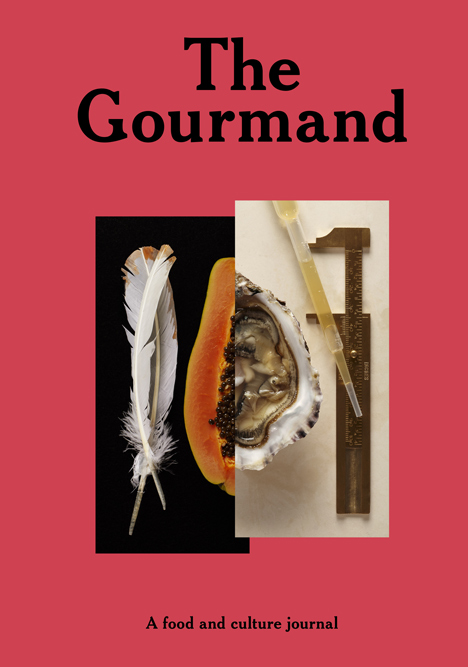 The Gourmand: A Food and Culture Journal created by David Lane (Creative Director), Marina Tweed & David Lane (Founders/Editors-in-chief). Photograph courtesy of The Gourmand