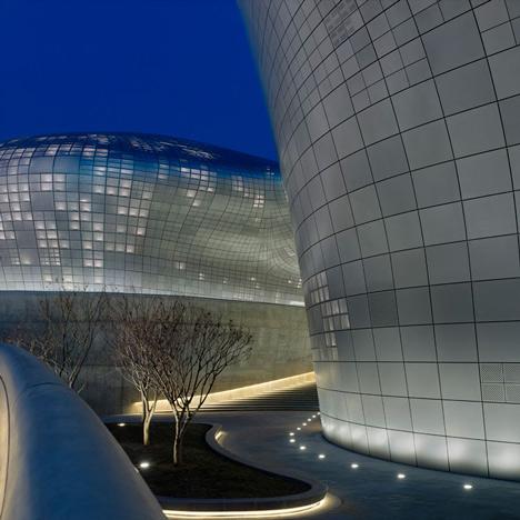 Zaha Hadid's Dongdaemun Design Plaza opens in Seoul