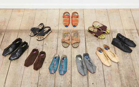 Shoe factory by Eugenia Morpurgo brings the production line to local high streets