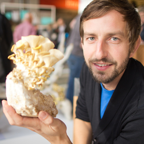 "3D-printed mushroom roots ""could be used to build houses"""