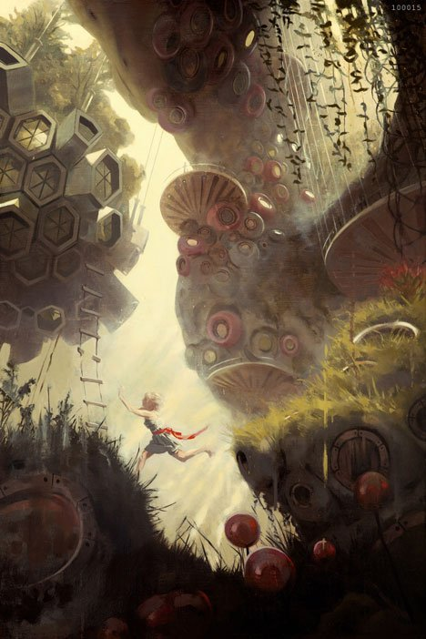 Fantasy world based on Alice in Wonderland wins architectural fairytale contest