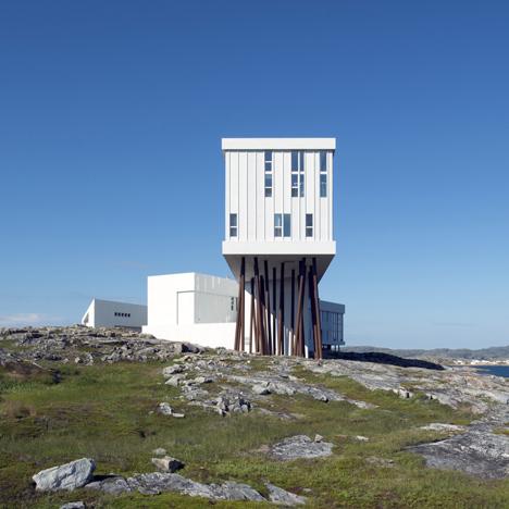 Fogo Island Inn by Saunders | architecture | dezeen