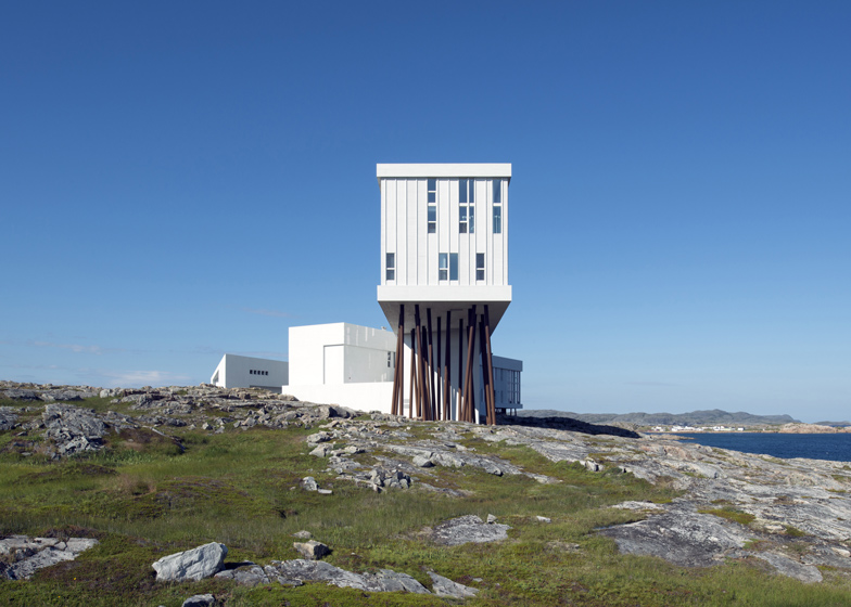 8: Fogo Island Inn by Saunders Architecture