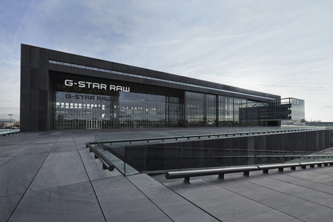 G-Star RAW Amsterdam Headquarters by OMA