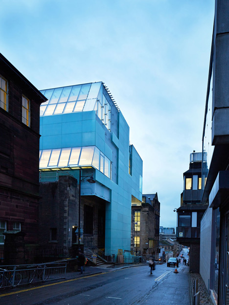 Glasgow School of Art by Steven Holl