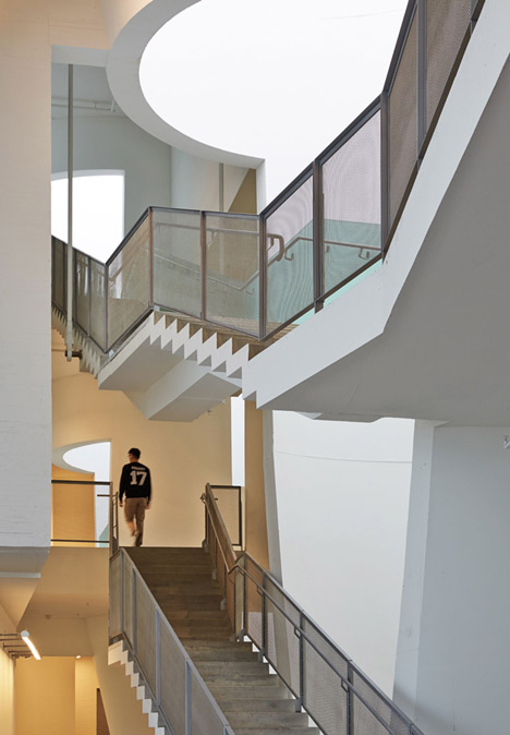 Glasgow School of Art by Steven Holl