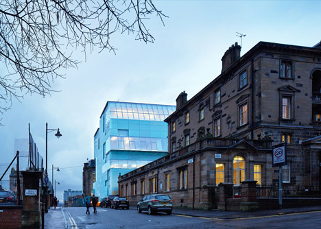 Steven Holl completes extension to Mackintosh's Glasgow School of Art