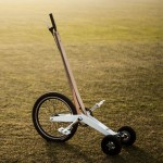 Halfbike by Kolelinia lets riders stand up while pedalling