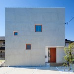 Kichi Architectural Design completes cube-shaped House of Kubogaoka