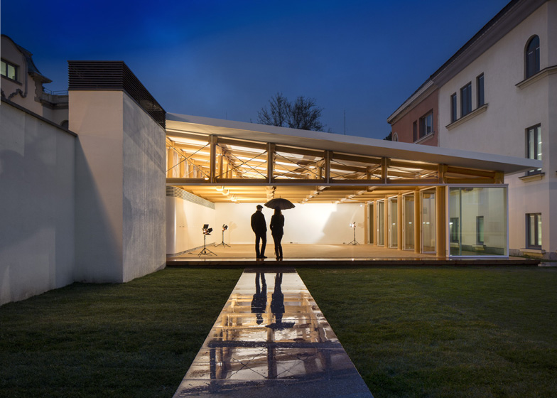 IE Paper Pavilion by Shigeru Ban
