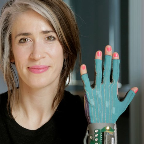 Imogen Heap launches funding drive for gloves that turn gestures into music