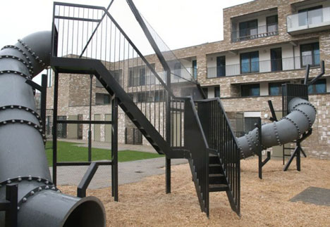 Industrial playground by Studio Makkink & Bey