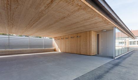 Jaurès primary school by Yoonseux architectes