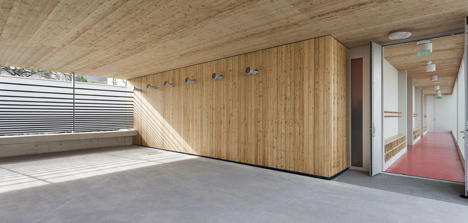 Jaurès primary school by Yoonseux architectes