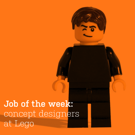 Job of the week: concept designers at Lego