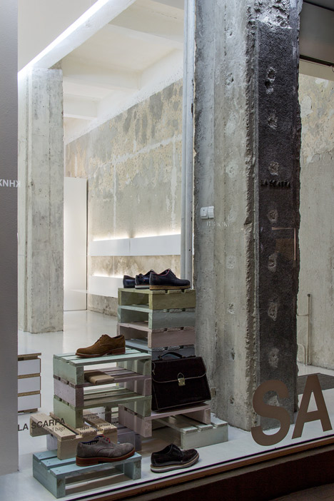 La Scarpa shoe shop by Elia Nedkov