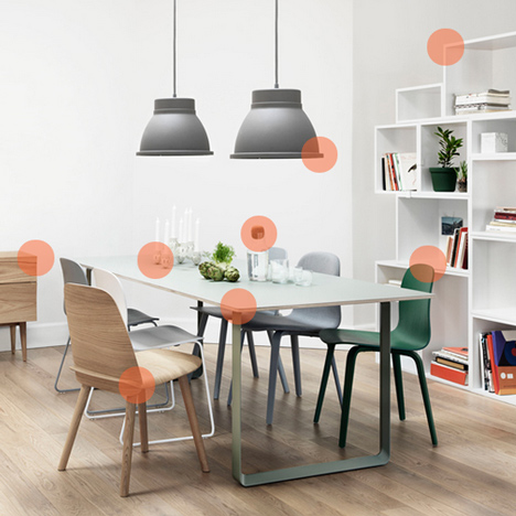 Interactive slideshow: Nordic designers create furniture, lighting and accessories for Muuto