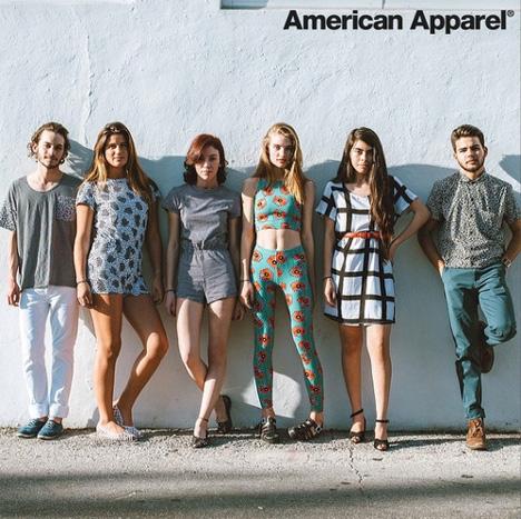 American Apparel launches capsule collection with Memphis designer Nathalie Du Pasquier