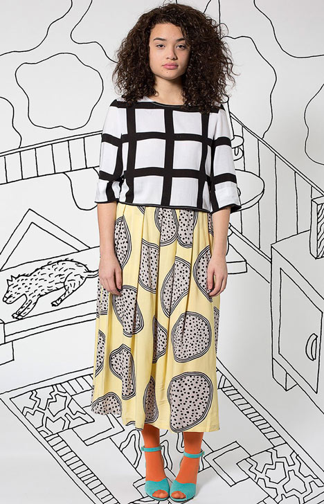American Apparel launches capsule collection with Memphis designer Nathalie Du Pasquier