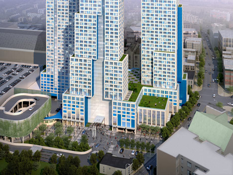 Work starts on New Jersey's tallest building by HWKN and Handel Architects