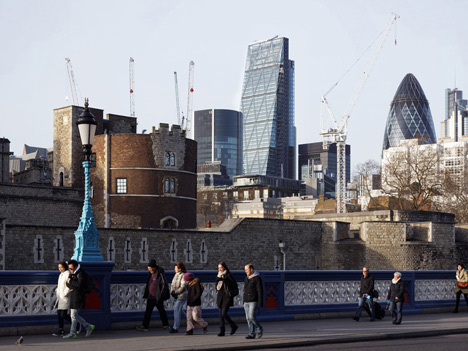 New photographs show Rogers Leadenhall Building nearing completion
