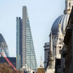 New photographs show Rogers' Leadenhall Building nearing completion