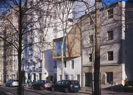 One-storey addition to house in Paris by BANG Architectes