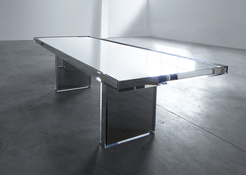 PRISM Mirror Table by Tokujin Yoshioka