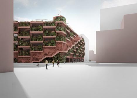 Park n Play car park by JAJA Architects