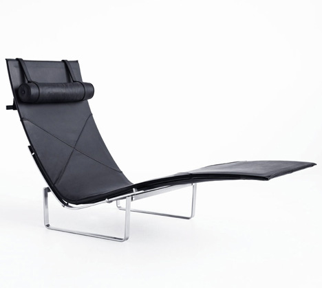 PK24 chair by Poul Kjaerholm, 1965, produced by Republic of Fritz Hansen
